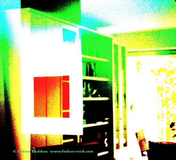 Foto Digital Art - Farbenraum