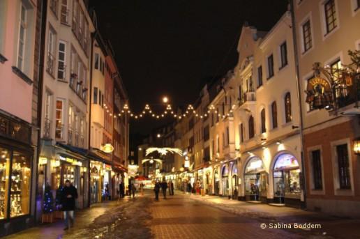 Düssldorf Altstadt in der Weihnachtszeit