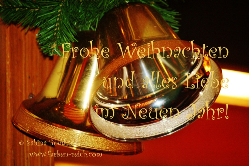 Frohe Weihnachten und ein liebevolles neues Jahr!