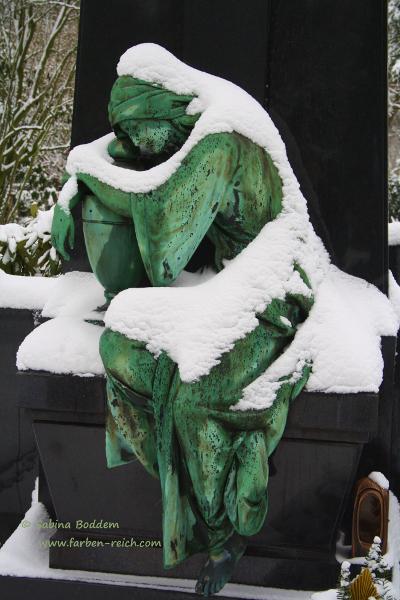 Grabdenkmal - Nordfriedhof Düsseldorf