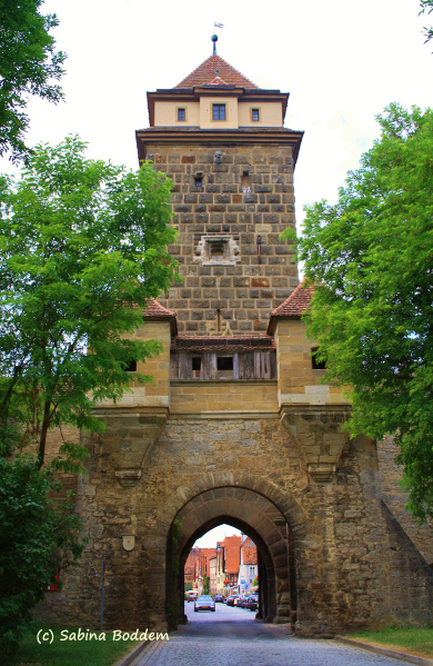 Rothenburg ob der Tauber - Galgentor