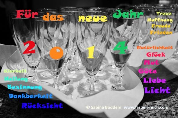 Gute Wünsche für das Jahr 2013