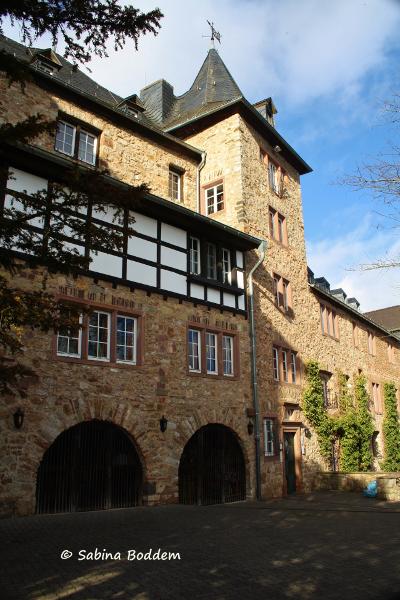 Blankenheim in der Eifel - Burg Grafenberg
