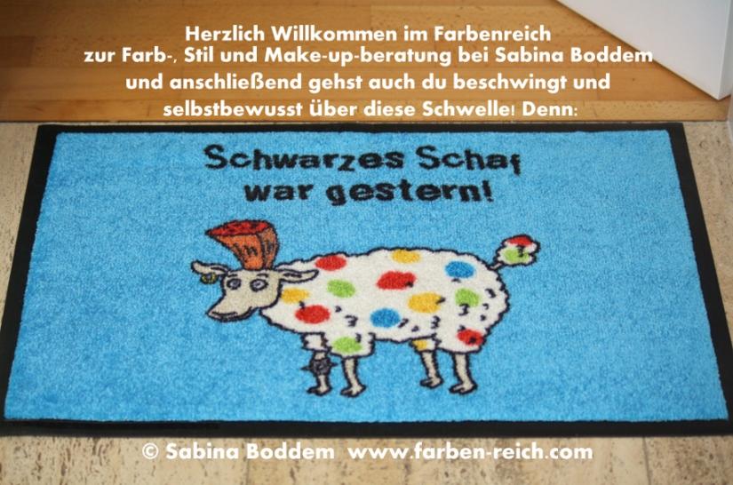 Schwarzes Schaf war gestern! Farb- und Stilberatung, Farbenreich, Sabina Boddem