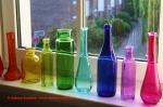Bunte Glasflaschen im Farbenreich, Sabina Boddem, ganzheitliche Farb- und Stilberaterin in Düsseldorf