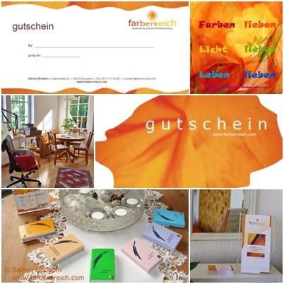 Geschenktipp, Geschenkidee, Gutschein für Farb- und Stilberatung, Sabina Boddem, Farbenreich