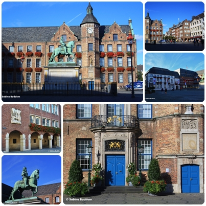 Düsseldorf, Rathaus, Marktplatz