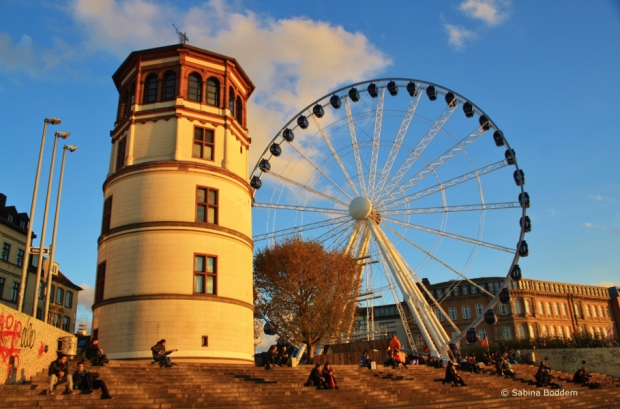 Düsseldorf - Altstadt, Riesenrad