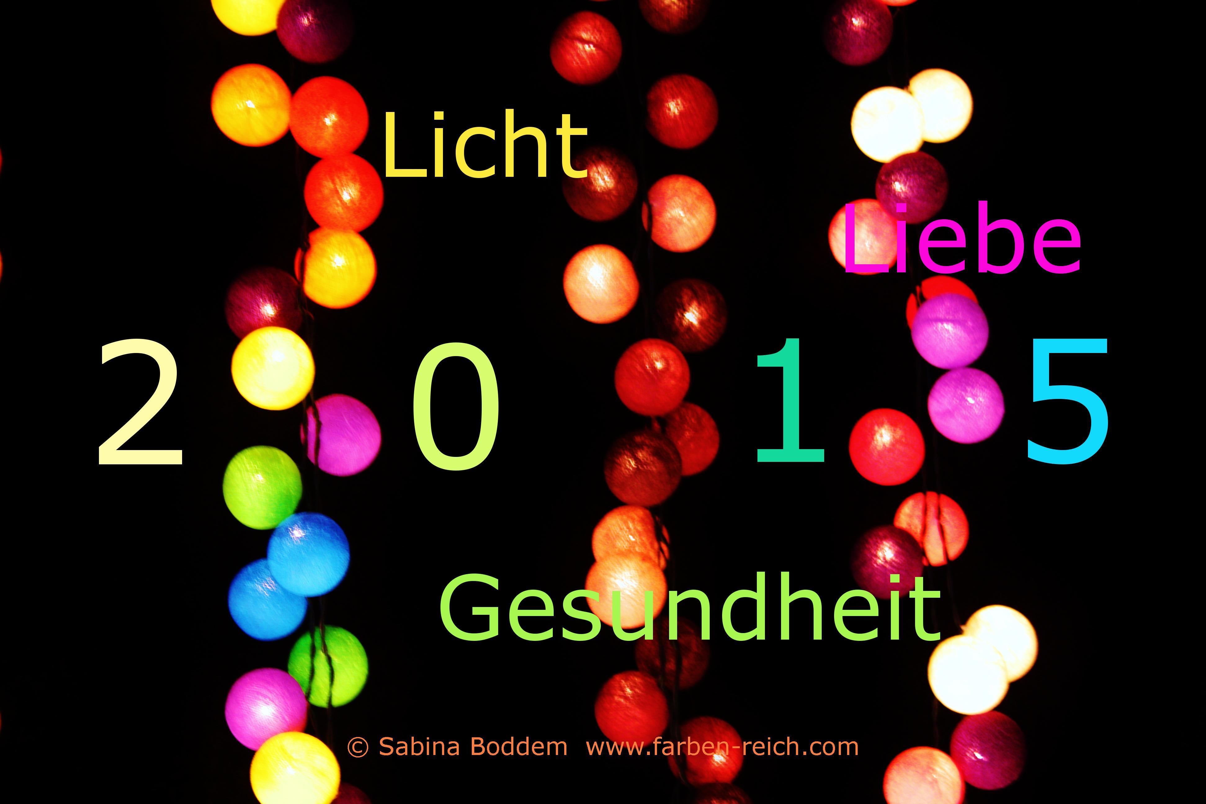 Einen guten Rutsch und ein frohes Neues Jahr 2015 |