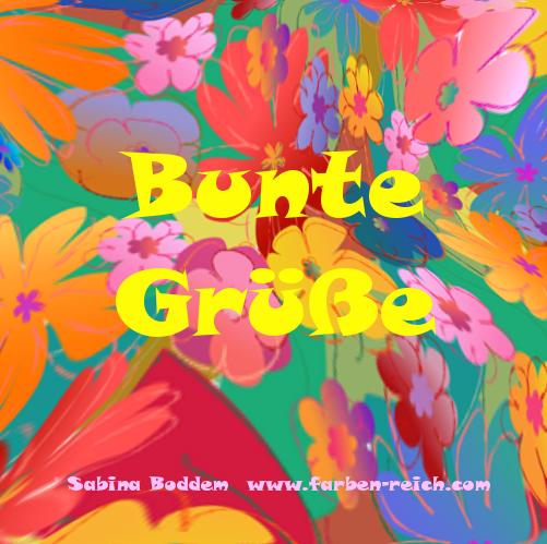 Farbberatung, Farbenreich, Sabina Boddem, Bunte Grüße