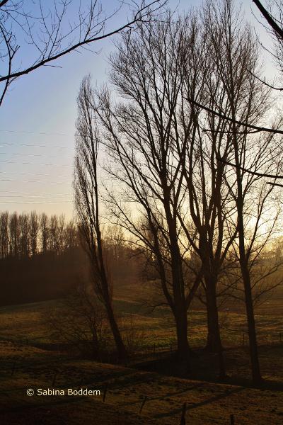 zwischen Düsseldorf und Ratingen, bergisches Land