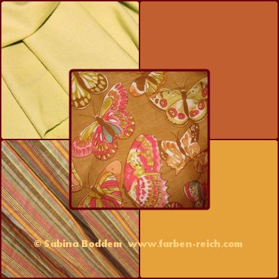 Farben für den Frühling-Herbst-Mischtyp, Farbberatung, Farbenreich, Sabina Boddem