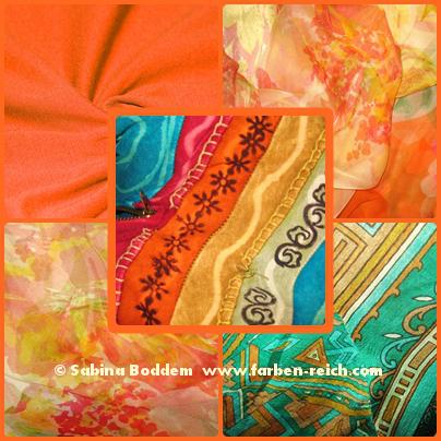 Farben für den Frühlingstyp, Farbberatung, Farbenreich, Sabina Boddem