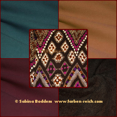 Farben für den Herbsttyp, Farbberatung, Farbenreich, Sabina Boddem