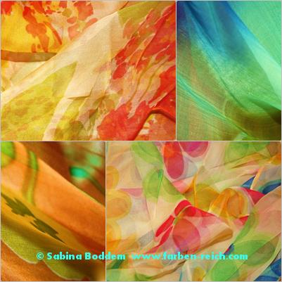Farben für den Frühlingstyp, , Farbberatung, Farbenreich, Sabina Boddem