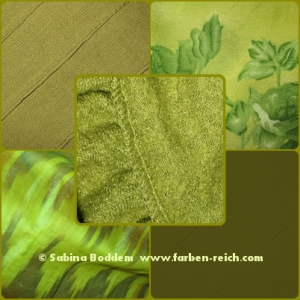 #Trendfarbe #Grün 2015/16 für den #Herbsttyp, #Farbberatung, #Farbenreich. Sabina Boddem