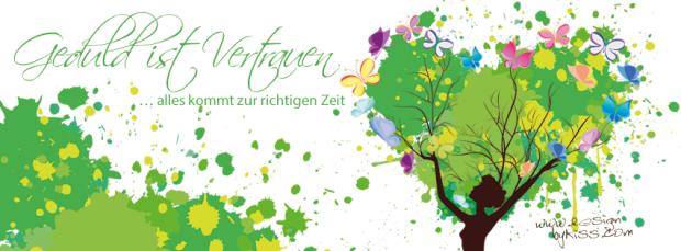 Sei geduldig mit dir und habe Vertrauen! #Farbberatung, #Stilberatung #Farbenreich