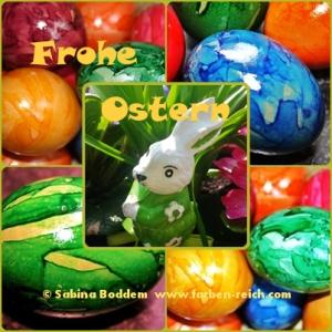 Frohe und bunte Ostern!