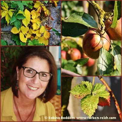 Herbsttyp, Herbstfarben, Sabina Boddem