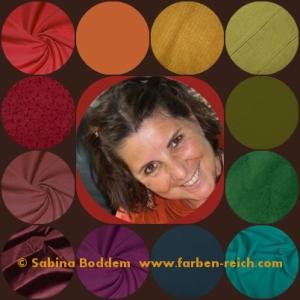 Herbsttyp, Herbstfarben, warme Farben des Herbstes, warme Regenbogenfarben, Sabina Boddem, Farbberatung, Farbenreich