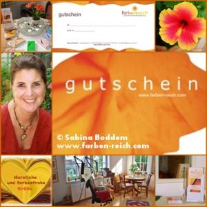 #Farbberatung #Stilberatung #Gutschein #Farbenreich #SabinaBoddem