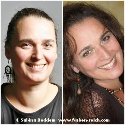 Herbsttyp vor und nach der Farb- und Stilberatung, Farbenreich - Sabina Boddem