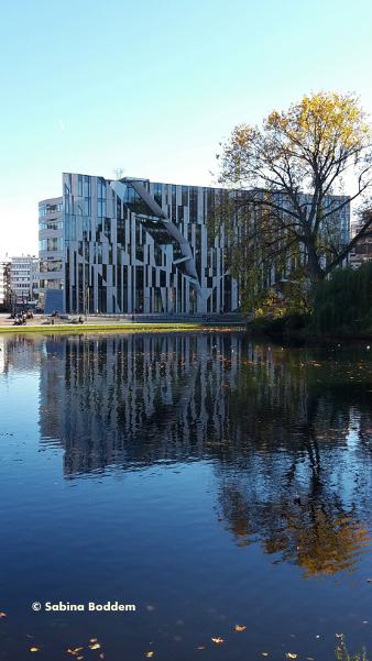 #KöBogen #WeiherAnDerLandskrone #Hofgarten #Düsseldorf