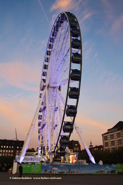 #Burgplatz #Riesenrad #Düsseldorf