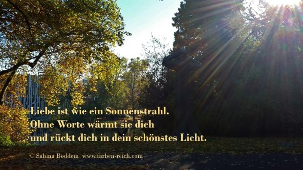 Liebe ist wie ein Sonnenstrahl