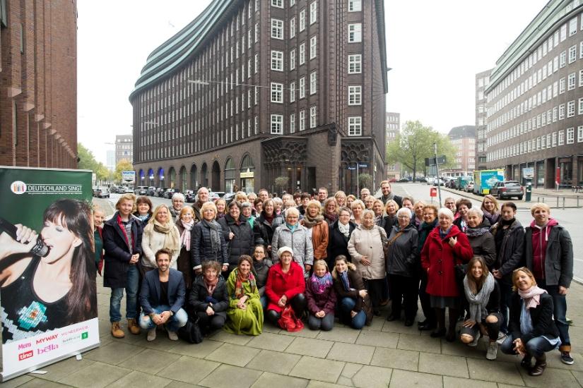 Event: Deutschland singt Gruppenfoto