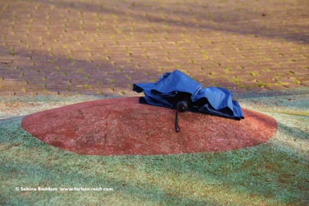 Regenschirm verloren