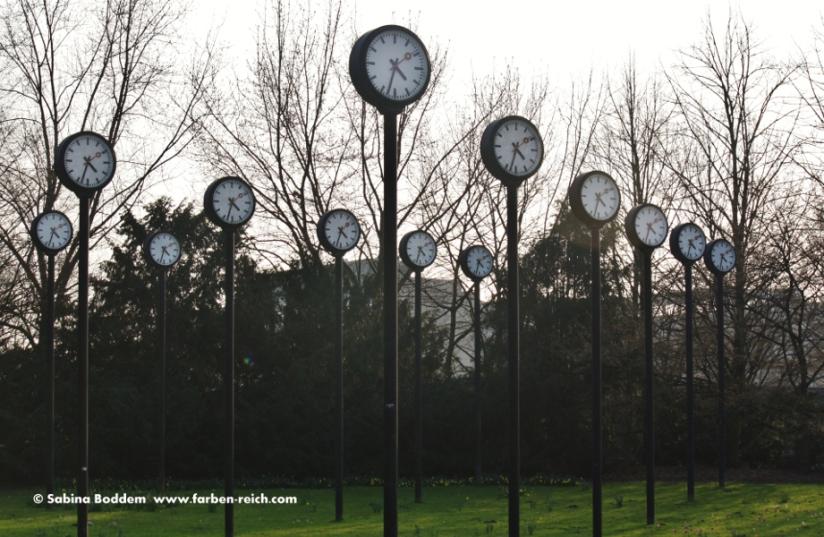 Uhren im Volksgarten Düsseldorf