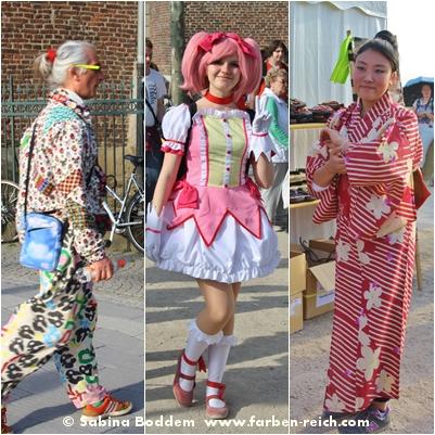 Japantag 2016 - Die fantasievolle und bunte Welt der Manga-, Cosplay- und Anime-Fans präsentiert von Farbenreich - Sabina Boddem