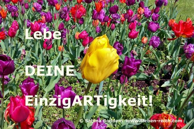 Lebe DEINE EinzigARTigkeit - #Ganzheitliche Farbberatung #Farbenreich