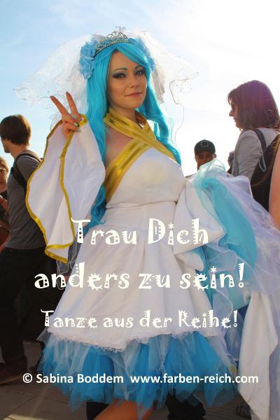 Farbenreich - Sabina Boddem: Trau Dich anders zu sein! Tanze aus der Reihe!