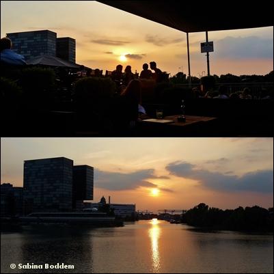 Düsseldorf im Abendrot (14)