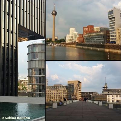 Düsseldorf im Abendrot (6)