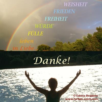 Gott ist Licht und zeigt sich als Regenbogen