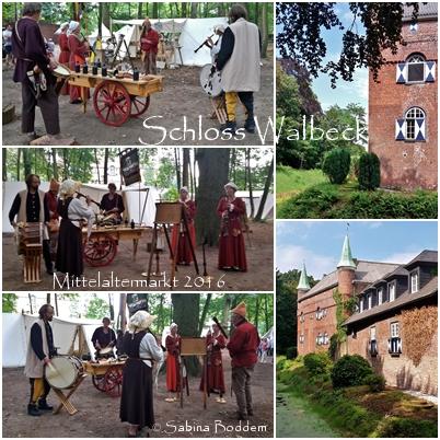 Mittelaltermarkt am Schloss Walbeck, Geldern. (2)