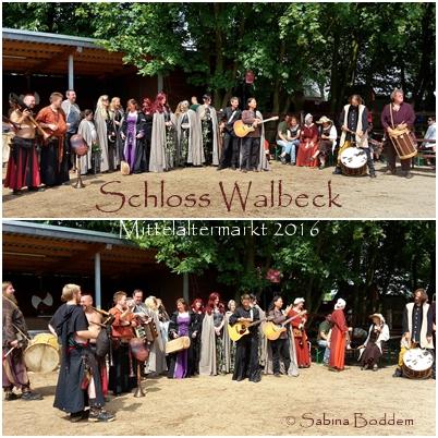 Mittelaltermarkt am Schloss Walbeck, Geldern. (6)