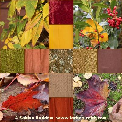 Herbstfarben in der Mode, Herbsttyp