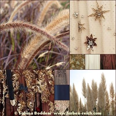 Herbstfarben in der Natur und in der Mode