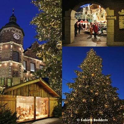 Düsseldorf Altstadt in der Adventszeit