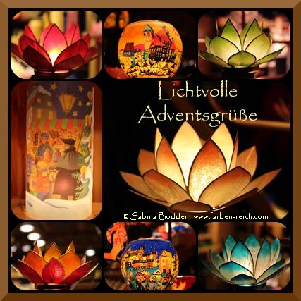 Lichtvolle Adventsgrüße