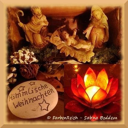 Himmlische Weihnachtsgrüße.Weihnachtsgrüße Farbenreich Weblog