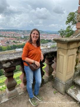 Sabina Boddem auf der Festung Marienberg